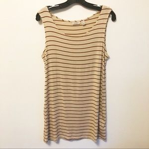 LOGO Lori Goldstein Long Tank/Tunic